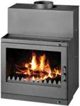 Wood Burning Fireplace Victoria 05 Tropic, 32kW