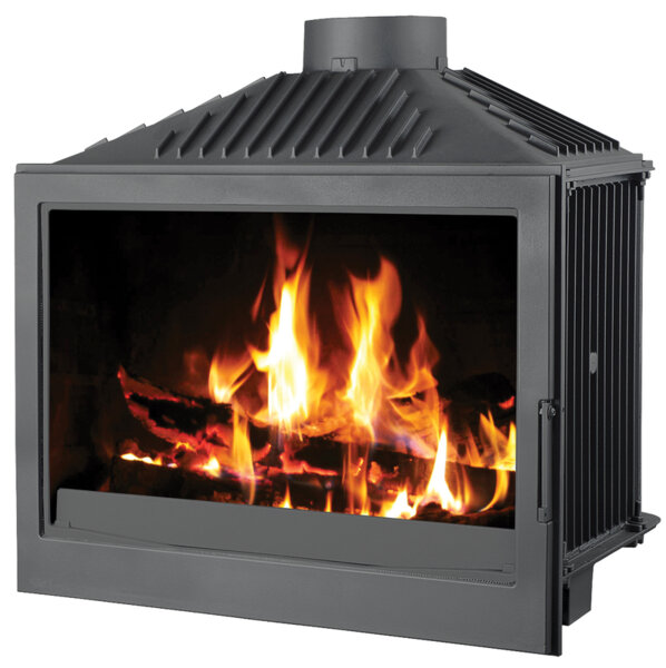 Wood Burning Fireplace Victoria 05 Bordeaux (No damper), 20kW
