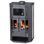 Wood Burning Stove with Oven Victoria 05 Taro 2F 9.5kW