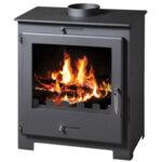 Multi Fuel Boiler Stove Victoria 05 Nero Lux BO 11kW