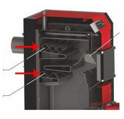 Turbulator set for Sunsystem Burnit WBS Boiler