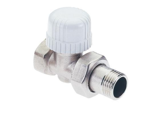 "Radiator valve 1/2"", Straight ICMA 775 for Thermostatic head (M28x1.5)"