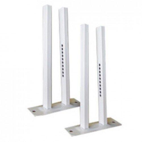 Floor stand for aluminium radiator