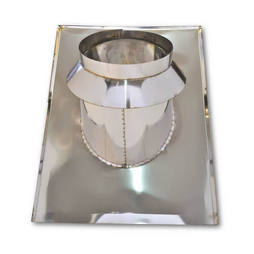 Residential flashing for inclined roof, Stainless steel AISI 304