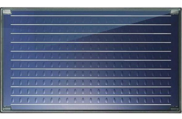 Flat plate solar collector Bosch, Model 5000TF H 2.4m², Horizontal mounting