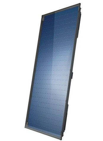 Flat plate solar collector Bosch, Model 7000TF 2.55m², Vertical mounting