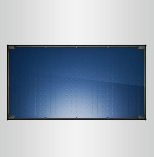 Flat plate solar collector Bosch, Model 7000TF 2.55m², Horizontal mounting