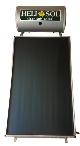 Thermosiphon system Heliosol, Model Titanium Solar 160L, Panel 1 x 2.6m²
