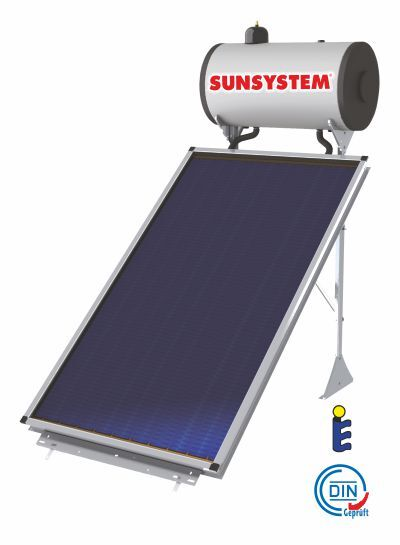 Thermosiphon system Sunsystem, Model TSSM 120L, Panel 1 x 2,15m²
