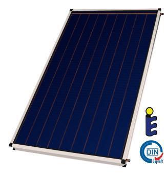 Flat plate solar collector Sunsystem, Model Standard New Line, 2,7m²
