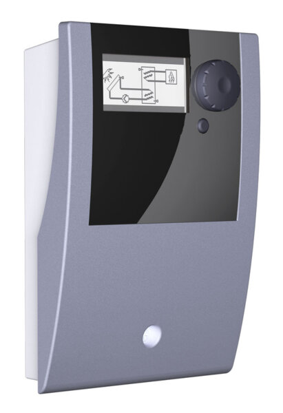 Differential temperature controller for solar thermal plants, Model smart Sol nano Special