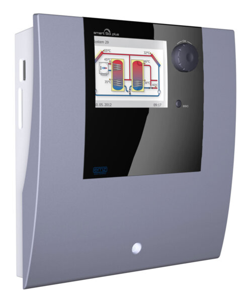 Differential temperature controller for solar thermal plants, Model smart Sol Plus Excellence