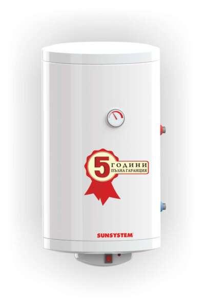 Water heater Sunsystem, Vertical Model MB 80 V S1, Volume 80L, One heat exchanger, Wall-hug