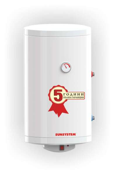 Water heater Sunsystem, Vertical Model MB 100 V S1, Volume 100L, One heat exchanger, Wall-hung