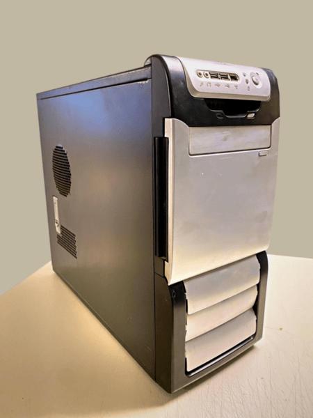 Μεταχειρισμένο PC γραφείου, i3-2100 @3.1, HD7700 2GB, H61M-E33, SSD 120GB, 4GB DDR3