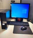Υπολογιστής γραφείου πλήρης με κάμερα HD και καρέκλα