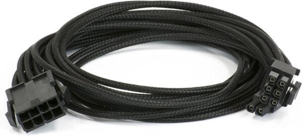 VGA extention cable 500 mm Phanteks 8 to 8 (6+2) Pin, Sleeved premium