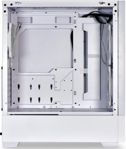 Lian Li Lancool 205 Mesh White PC Case - ATX/M-ATX/Mini-ITX Tower & 3 aRGB PWM fans - 1x120mm 2x140m
