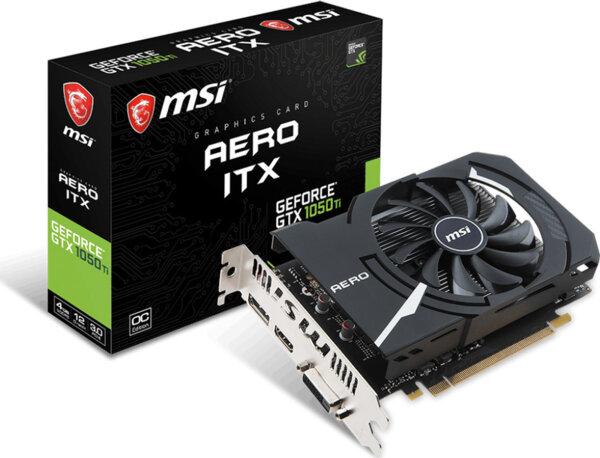 MSI GeForce GTX 1050 Ti 4GB Aero ITX OCV1