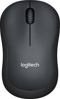 LOGITECH Mouse Wireless M220 Charcoal Silent