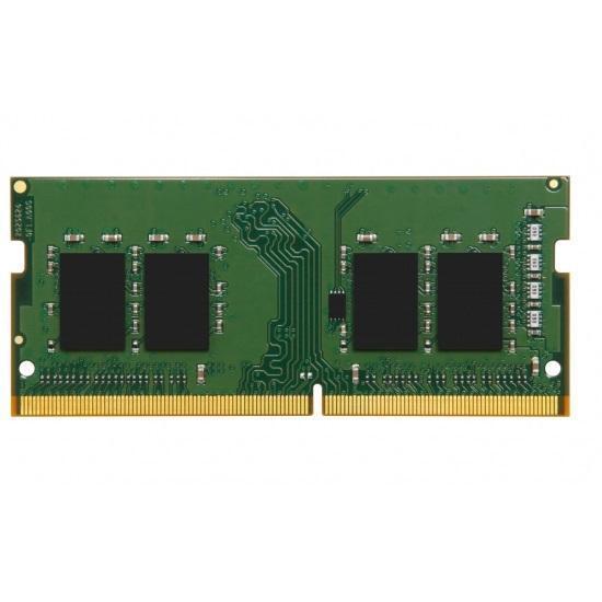 KINGSTON Memory KVR32S22S6/4, DDR4 SODIMM, 3200MHz, Single Rank, 4GB