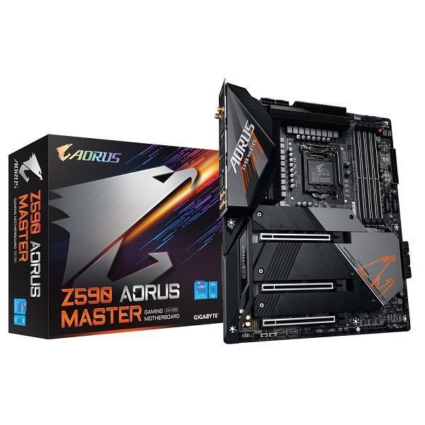 GIGABYTE MOTHERBOARD Z590 AORUS MASTER, 1200, DDR4, ATX