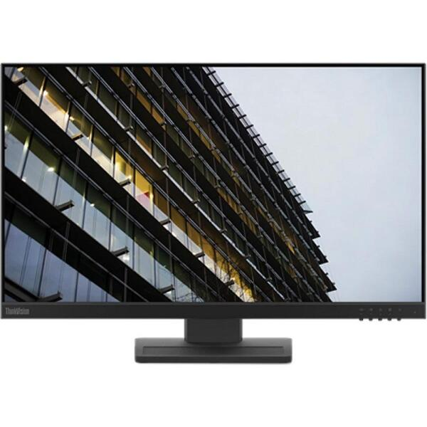 LENOVO Monitor ThinkVision E24-20 23.8'' IPS FHD, Slim Bezel, HDM�, DP, VGA, Height adjustable, Speakers, 3YearsW