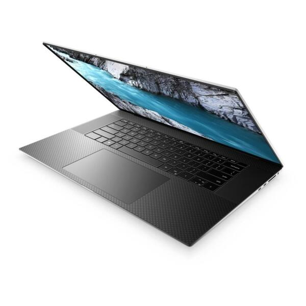 DELL Laptop XPS 17 9710 17.0'' UHD+ Touch/i9-11900H/32GB/1TB SSD/GeForce RTX 3060 6GB/Win 10 Pro/2Y PRM/Platinum Silver - Black Carbon