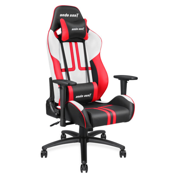 ANDA SEAT Gaming Chair VIPER Black – White – Red