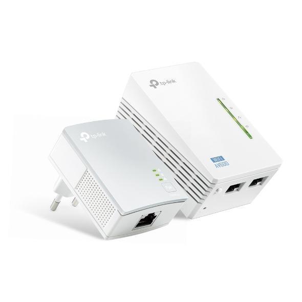 TP-LINK Powerline TL-WPA4220KIT, AV600 WiFi Starter Kit (2 pcs)