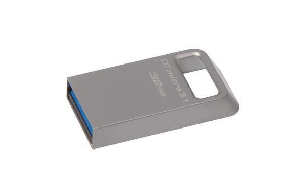 KINGSTON USB Stick Data Traveler Micro 3.1 DTMC3/32GB, USB 3.1, Silver