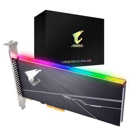GIGABYTE SSD AORUS AIC RGB 512GB PCI EXPRESS CARD