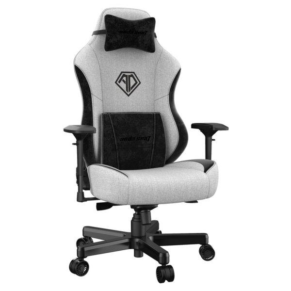 ANDA SEAT Gaming Chair AD18 T-PRO Light Grey/ Black