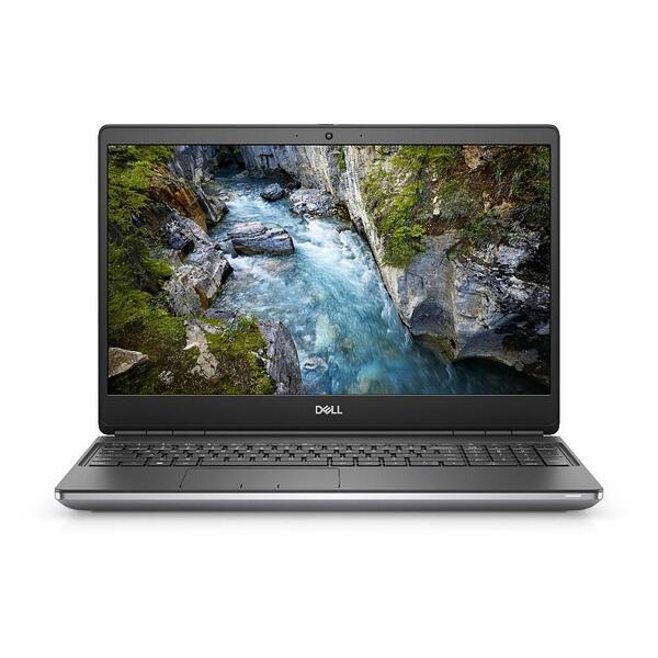 DELL Workstation Laptop Precision 7550 15.6'' FHD/i7-10850H/32GB/1TB SSD/Quadro T2000 4GB/Win 10 Pro/3Y ProSupport/Gray