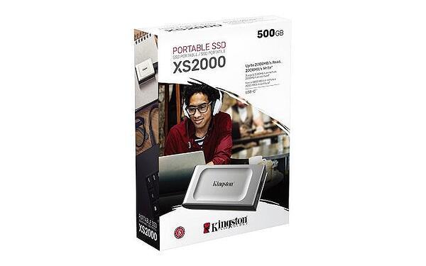 KINGSTON EXTERNAL SSD SXS2000 SXS2000/500G, 500GB USB 3.2 Gen2x2, TYPE C