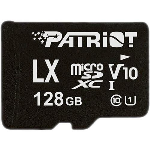 PS1599 PATRIOT, MICROSD, 128GB, XC C10/U1, 80/10