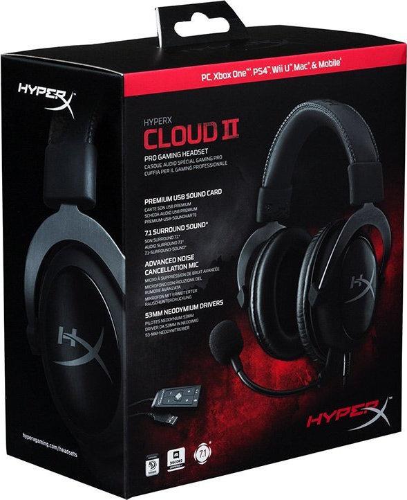 Ακουστικά HyperX Cloud II