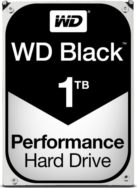 Μεταχειρισμένος Western Digital Black 1TB (64MB Cache)