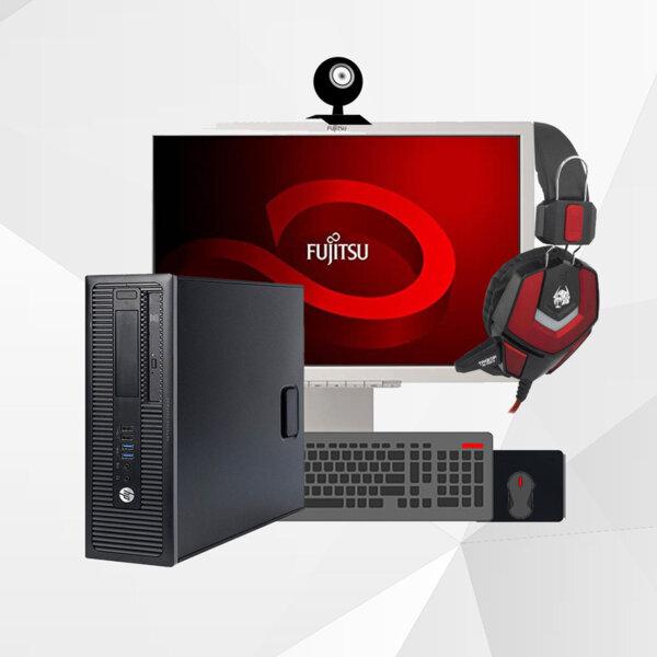 Office Set με Οθόνη/Κάμερα/Πληκτρολόγιο/Ποντίκι/Ακουστικά