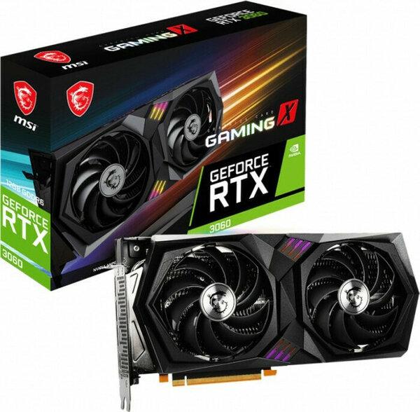 Κάρτα Γραφικών  MSI GeForce RTX 3060 Gaming X 12GB