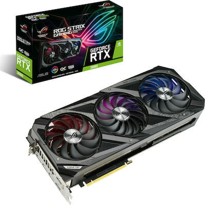 Κάρτα Γραφικών Asus GeForce RTX 3070 8GB Rog Strix OC