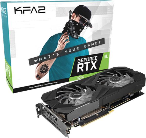 Κάρτα Γραφικών KFA2 GeForce RTX 3060 12GB EX 1-Click OC