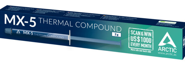 Arctic MX-5 2g - High Performance Thermal Compound with Spatula