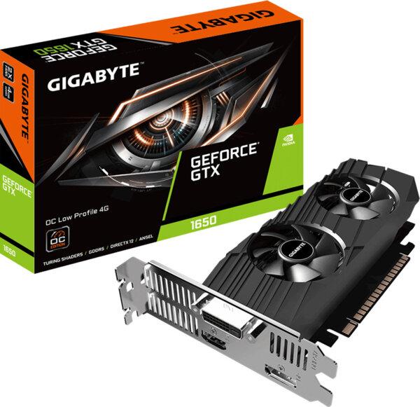 Κάρτα Γραφικών Gigabyte GeForce GTX 1650 4GB Low Profile OC