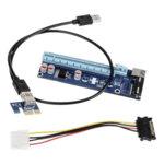 KOLINK PCI-E X1 TO X16 POWERED RISER CARD MINING/RENDERING-KIT - 60CM