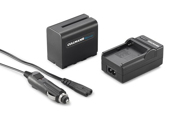 CULLMANN CUpower BA 7800S Kit, Battery for NP-F970 incl. Charger