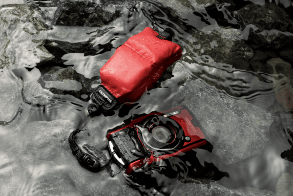 Olympus CHS-09 Floating Handstrap (red) for Tough series