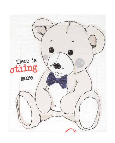 Олекотено одеяло ранфорс 90/110см Teddy Bear
