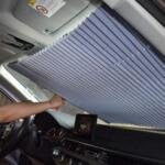 Слънцезащитна щора с вакуум 65СМ