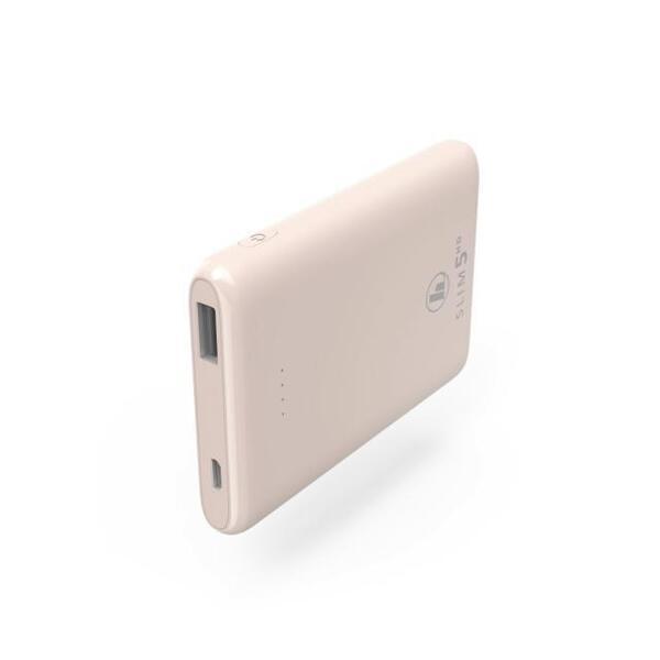 Външна батерия HAMA SLIM 2 ЦВЯТА, 5HD, 5000 MAH, LIPOLYM, USB-A